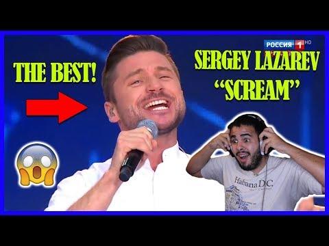 """Сергей Лазарев - """"Крик"""". Премьера Reaction!"""