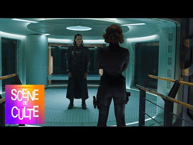 Avengers - l'interrogatoire de loki par black widow [scène culte]