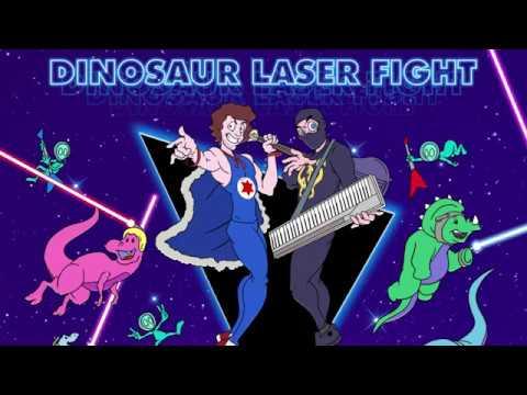 Dinosaur Laser Fight - Ninja Sex Party - Karaoke Version