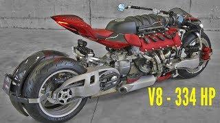 Masserati engine on a MOTORCYCLE