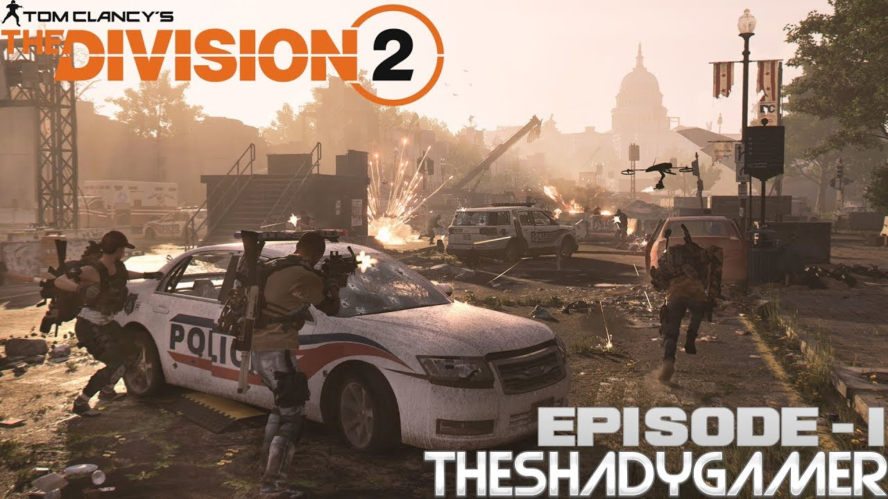 The Division 2 Cut Stream Ep 1 Hello And Welcome To Washington Enjoy