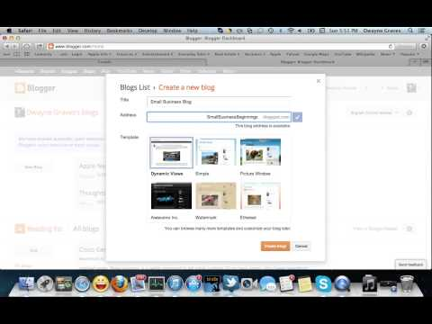 Blog tutorial: How to create a successful FREE blog or website in no time! Part 2