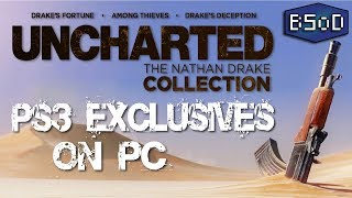 RPCS3 | The Uncharted Trilogy | PS3 Exclusives on PC