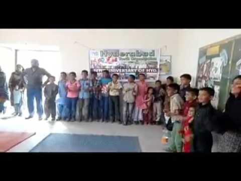 say say coore By HYDERABAD YOUTH ORGANIZAION at SOS village JAMSHORO