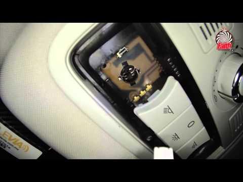 Como cambiar Luz Interior de SEAT Leon 2014 // How Change Interior Car Lights