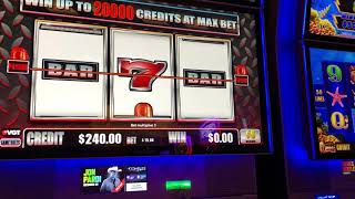 """VGT Slots """"Lock Zone""""  Good Win New Game High Limits Choctaw Casino, Durant, OK"""