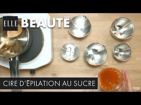 DIY : comment faire une cire d'épilation au sucre I ELLE Beauté