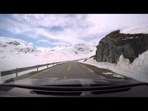 Visiting Norway Pt 2 of 5. Drive Oslo - Flåm on RV7 and RV50