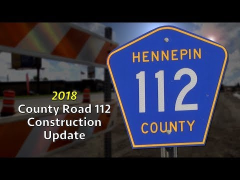 Long Lake - County Rd. 112 Construction Update (2018)