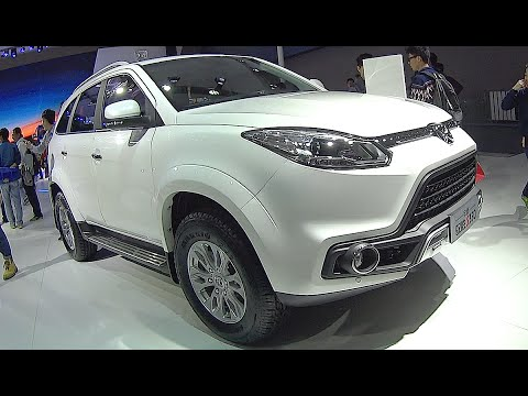 New SUV JMC S350 2016 2016, 2017 interior, exterior video