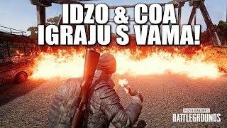 Idzo & Coa igraju s vama! 🔴 PUBG // 3x Chicken 17 kills