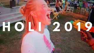 Celebrating Holi 2019 Festival in India! Kerala Travel Vlog