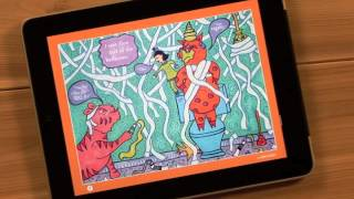 'Nalah and the Pink Tiger' iPad app by Anne Sawyer-Aitch