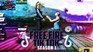FREE FIRE TIK TOK TEMPORADA #1 - MEJORES MOMENTOS, DIVERTIDOS, GRACIOSOS 😂 | DaniWo!