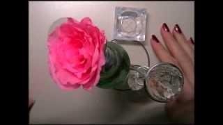 Креативная ваза своими руками! Vase! Видео урок! hand-made