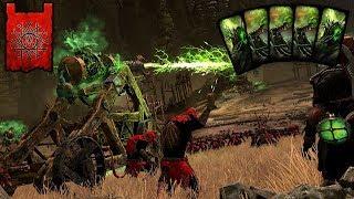 GODLIKE SKAVEN ARTILLERY TACTICS! - Skaven vs. High Elves - Total War Warhammer 2