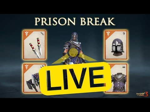 🔴Shadow Fight 3 - PRISON BRAKE it`s here -last boss killed at 02:52:00