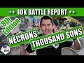 40k battle report 8th edition necrons vs thousand sons new necron dice mp3 indir