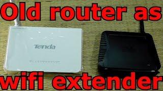 Verwenden Sie Ihre alten router als WLAN-extender (in einfachen Schritten)