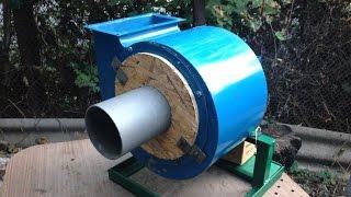 видео Центробежный вентилятор своими руками