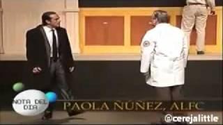 Paola Núñez, Venteando - Estreno de Rain Man