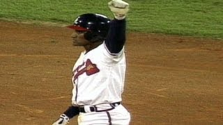 1992 WS Gm6: Braves tie game in ninth on Nixon
