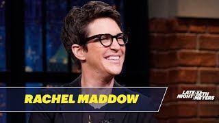 Rachel Maddow's Book, Blowout, Was Published with Perfect Timing