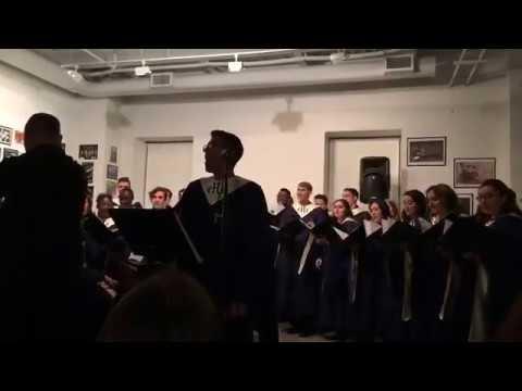 Voces en exilio: Kyrie by Hendriks Choir at La Casita: Composer/Conductor Jose