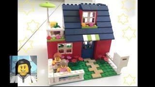 LEGO - Como Construir uma Casa Simples e Charmosa de Lego!!