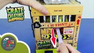 Kéo lưỡi quái vật trong cũi Crate Creatures ToyStation 236