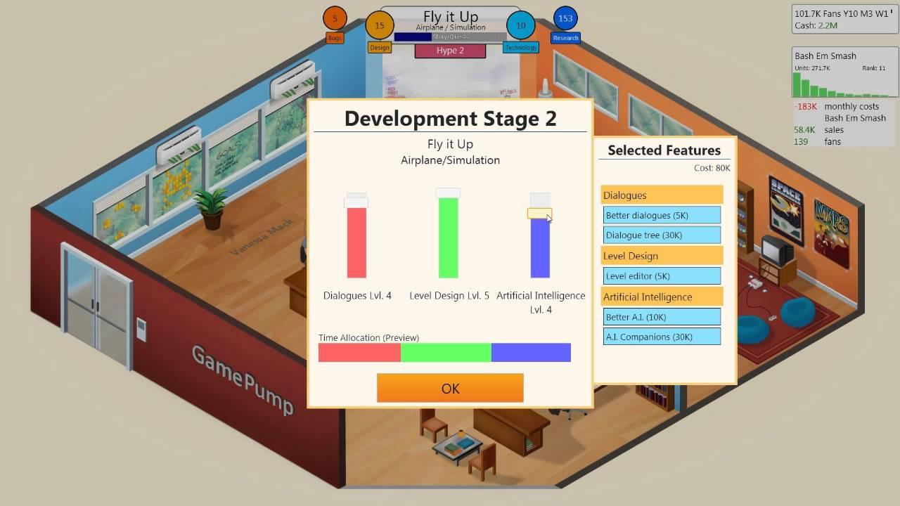 Game Dev Tycoon Game Engine Animationpolar