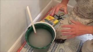 Mixing Wallpaper Paste