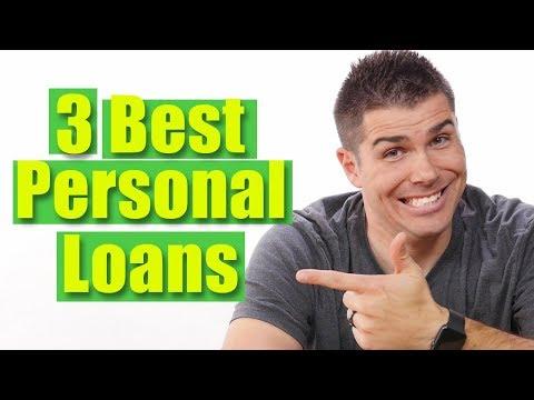 3 Best Personal Loans (2018)