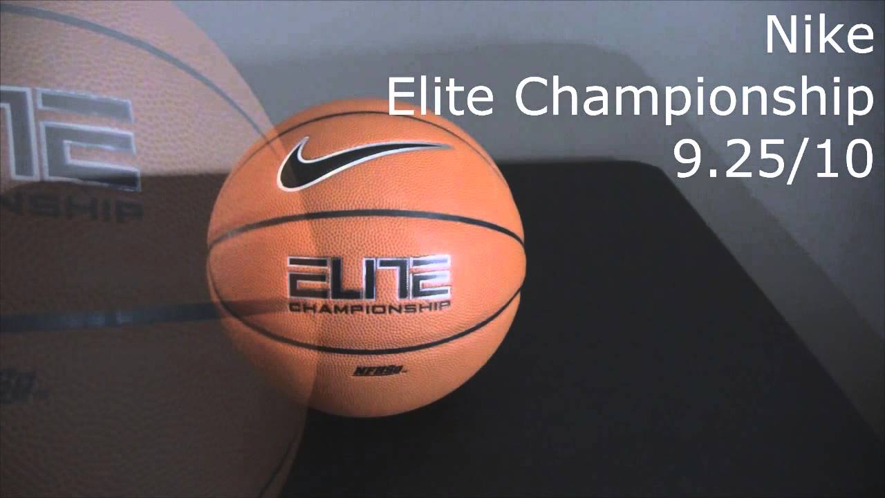 Nike Elite Championship Basketball Review - YouTube 89159efcfc3c2