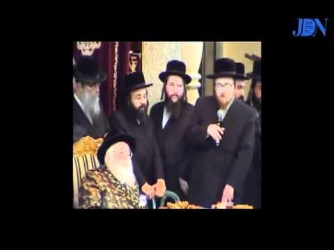 Visit Of Viznitzer Rebbe To Ashdod 5762 Part 1