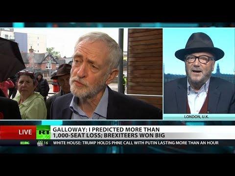 Brexit turmoil causes Labour, Tory election losses