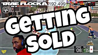 GETTING SOLD BY TRAP ON NBA 2K19! Fortnite wins! Getting sold on TWOS by trap 🎮#gomfsfb