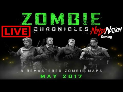"TREYARCH ""ZOMBIE CHRONICLES"" LIVESTREAM REVEAL & REACTION 