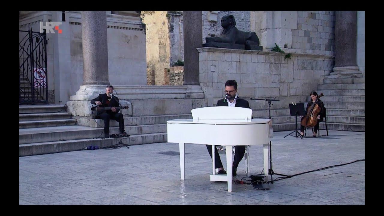 PETAR GRAŠO - Koncert  na praznom  Peristilu