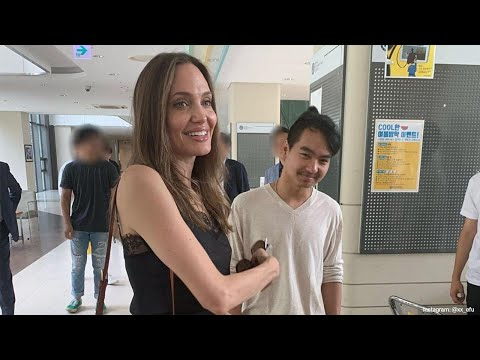 Angelina Jolie Tries Not to Cry While Dropping Son Maddox Off at College