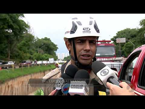 JSD (12/12/17) - Motorista cai em canal na Marginal Botafogo