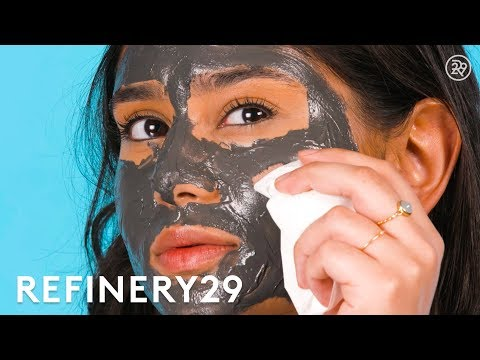 This Magnetic Mask Close-Up Is So Mesmerizing | Short Cuts | Refinery29