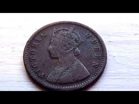 A 1862 Indea Queen Victoria Coin