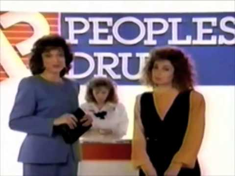 Peoples Drug commercial w Dixie Carter and Annie Potts   1990