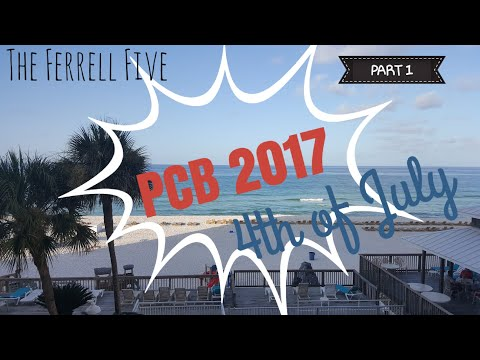 Panama City Beach Family Vacation | Part 1 | PCB 2017| Gulf World