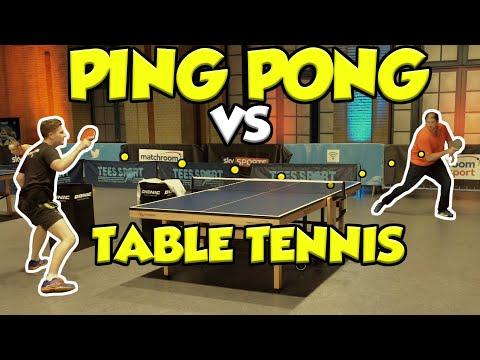 Dan At World Championships Of Ping Pong 2020