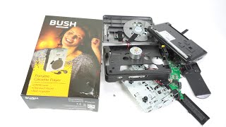 Bush Portable Cassette Player. As bad as it gets...and then some