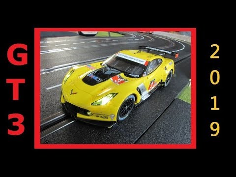 2019 GT3 Digital Slot Car League Race 8 Sochi Autodrome