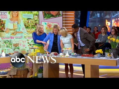 Sandra Lee Demonstrates Delicious Easter Recipes Live On 'GMA'