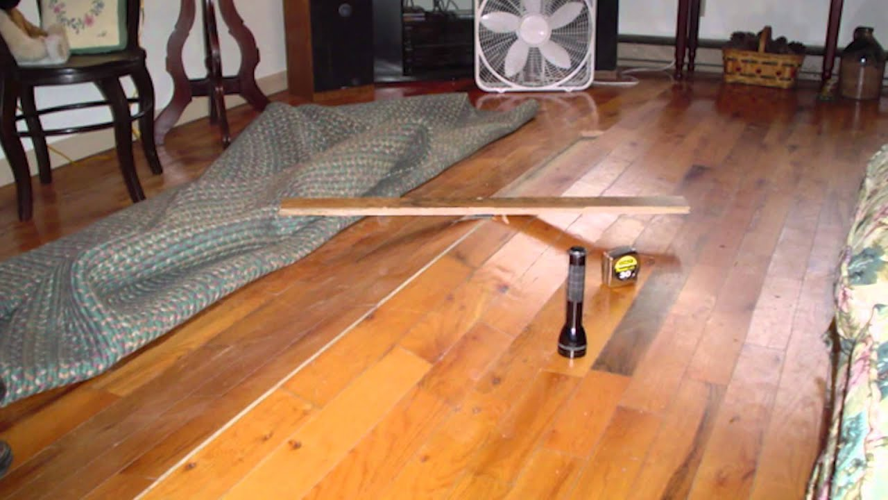 Buckling hardwood floors above vented crawl spaces ask for How to fix buckling hardwood floors